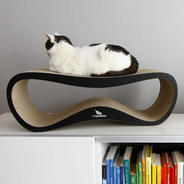 MyKotty Griffoir pour chats LUI 75 x 25 x 25 cm Noir 3083[4/6]