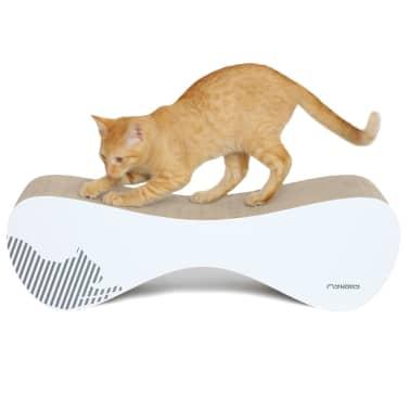MyKotty Griffoir pour chats VIGO 71 x 25 x 21 cm Blanc 3084[4/7]