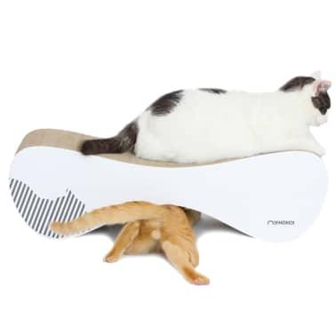 MyKotty Griffoir pour chats VIGO 71 x 25 x 21 cm Blanc 3084[5/7]