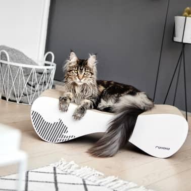 MyKotty Griffoir pour chats VIGO 71 x 25 x 21 cm Blanc 3084[6/7]