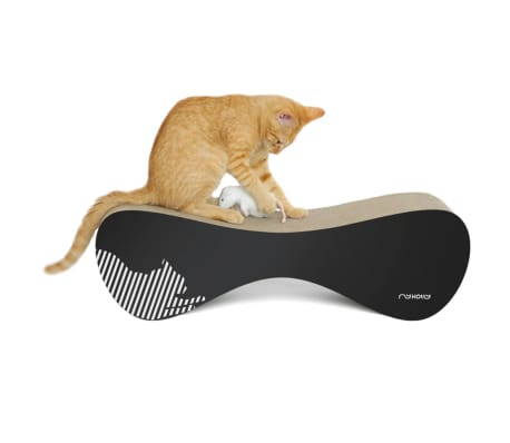 MyKotty Griffoir pour chats VIGO 71 x 25 x 21 cm Noir 3086[3/5]