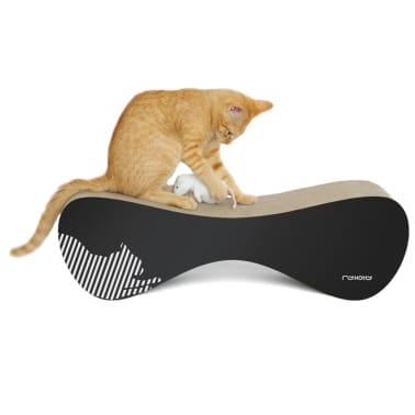 MyKotty Griffoir pour chats VIGO 71 x 25 x 21 cm Noir 3086[4/5]