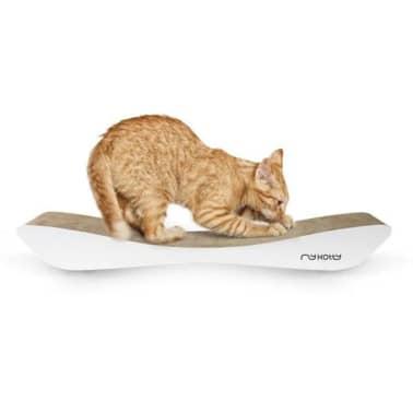 MyKotty Griffoir pour chats TOBI 59 x 25 x 6,9 cm Blanc 3087[3/4]