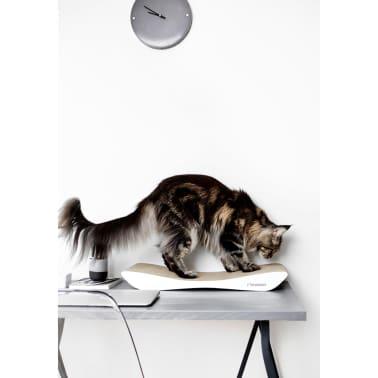 MyKotty Griffoir pour chats TOBI 59 x 25 x 6,9 cm Blanc 3087[4/4]
