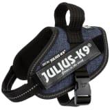 Julius K9 IDC Hundpowersele strl. mini-mini jeansblå 14825