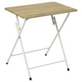 Table pliante grand modèle en bois, pieds en métal