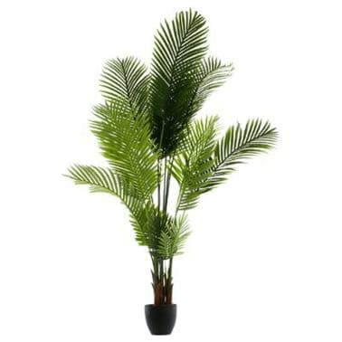 lot de 2 palmiers artificiels en Polyéthylène et ciment[1/1]