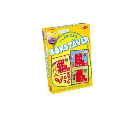 Tactic Spel Vi lär oss bokstäver