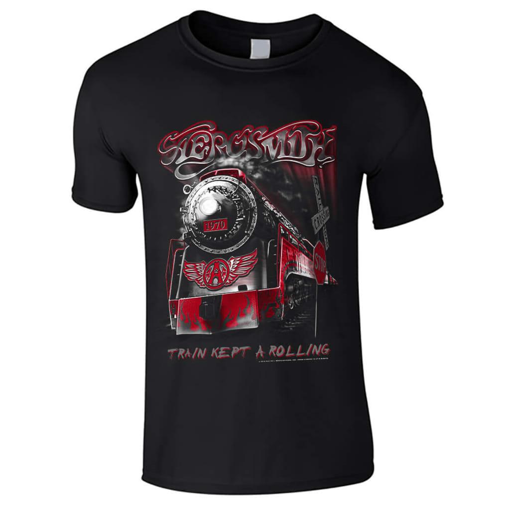 Afbeelding van Aerosmith Train kept a going kinderen t shirt
