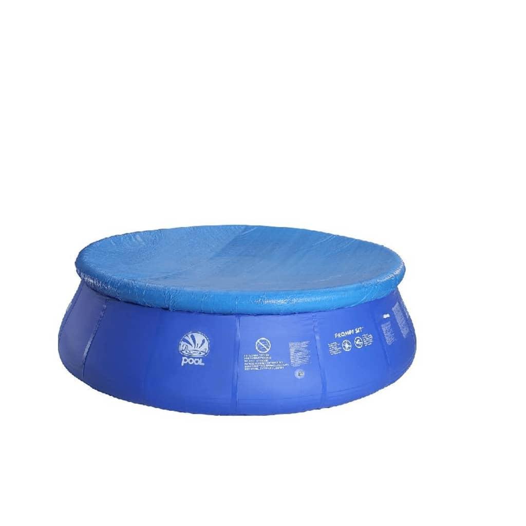 Prelată rotundă pentru piscină Jilong, Ø 240 cm, Albastru poza vidaxl.ro