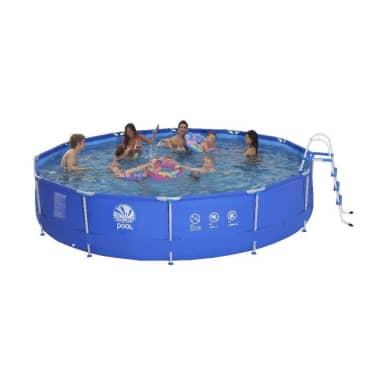 Acheter jilong piscine ronde 450x90 cm 7020024048 pas cher for Accessoire piscine jilong
