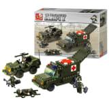 Sluban Byggblock Army Serie Ambulance