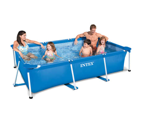 acheter piscine familiale ch ssis 300 x 200 x 75 cm intex 28272np pas cher. Black Bedroom Furniture Sets. Home Design Ideas