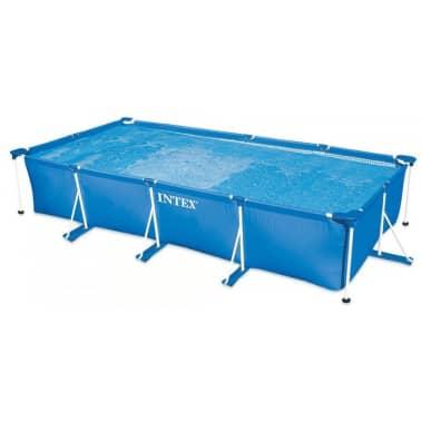 intex frame zwembad rechthoek 450x220x84cm online kopen On frame zwembad rechthoek