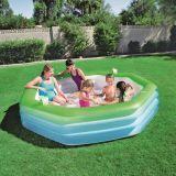 Bestway Familie zwembad Octagon Deluxe (251x51cm)