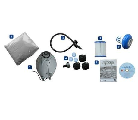 bestway whirlpool indoor lay z spa miami. Black Bedroom Furniture Sets. Home Design Ideas