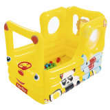 Bestway Plac zabaw/dmuchany autobus Fisher Price Lil' Learner