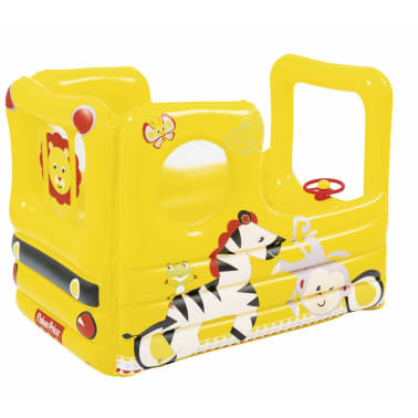 Bestway Autobús escolar de juego Fisher Price Lil