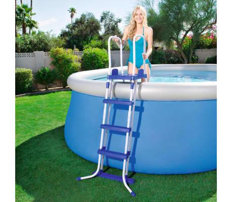 Bestway scaletta per piscina a 3 gradini 122 cm 58331 - Gradini per piscine ...