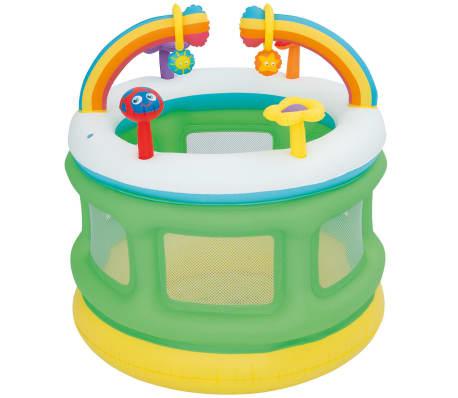 Bestway Boîte de jeu gonflable Multicolore
