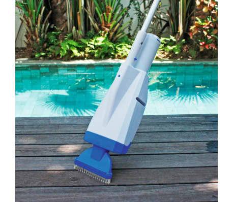 Lay z spa aspiradora para piscina deluxe blanca y azul 58427 - Aspiradora para piscina ...