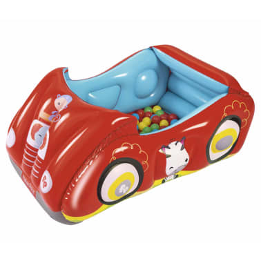 Bestway Piscina de bolas hinchable forma de coche Fisher Price 93520[1/8]