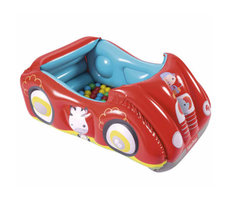 Bestway Piscina de bolas hinchable forma de coche Fisher Price 93520[5/8]
