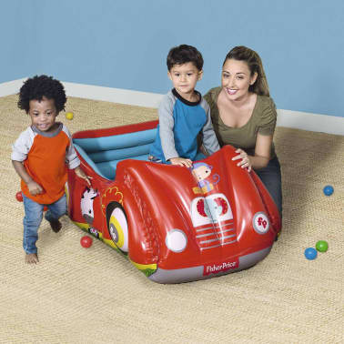 Bestway Piscina de bolas hinchable forma de coche Fisher Price 93520[2/8]