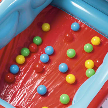 Bestway Piscina de bolas hinchable forma de coche Fisher Price 93520[4/8]