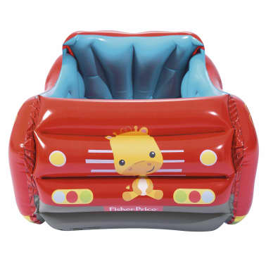 Bestway Piscina de bolas hinchable forma de coche Fisher Price 93520[6/8]