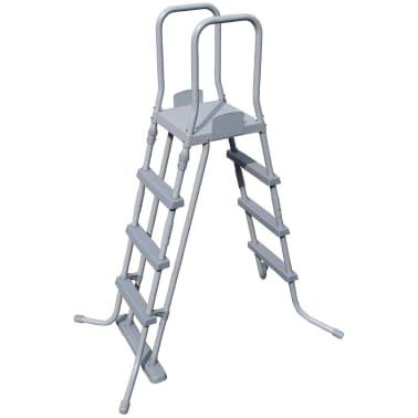 bestway bestway pool set mistral rechteckig grau 549x274cm. Black Bedroom Furniture Sets. Home Design Ideas