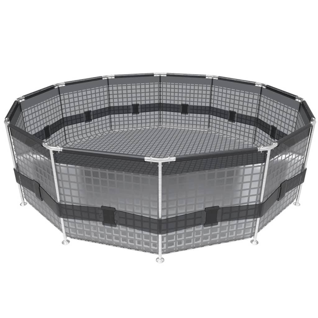 Bestway zwembad Sirocco rond en blauw 366 cm 56416