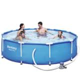 Bestway bazénový set Sirocco, kulatý modrý, 305 cm 56408