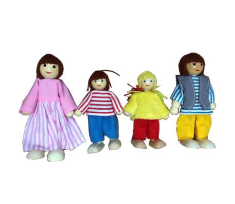 AK Sports dukkesæt i fire dele til dukkehus 4100[1/2]