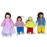 AK Sport Set de muñecos de casa de muñecas 4100