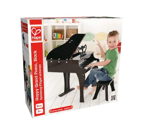 Piano negro de juguete modelo Grand, marca Hape E0320[4/4]