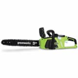Greenworks Tronçonneuse sans batterie 40 V GD40CS40 40 cm 20077