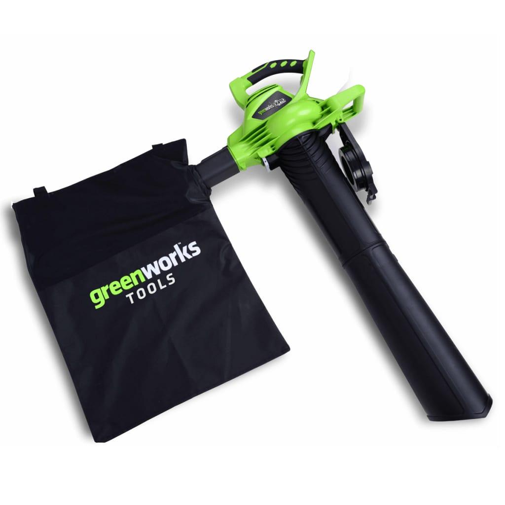 Afbeelding van Greenworks Bladblazer/-zuiger zonder 40 V accu GD40BV 24227