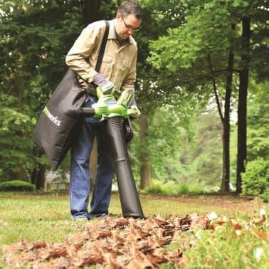 Greenworks Lövblås/lövsug utan 40 V-batteri GD40BV 24227[2/4]