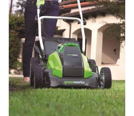 Greenworks Gräsklippare utan 40 V-batteri G40LM45 45 cm 2500107[4/5]