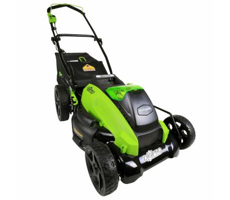 Greenworks Gräsklippare utan 40 V-batteri G40LM45 45 cm 2500107[5/5]