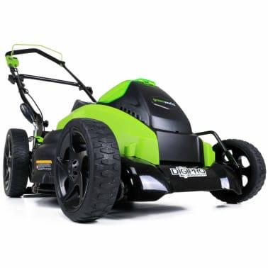 Greenworks Gräsklippare utan 40 V-batteri G40LM45 45 cm 2500107[2/5]
