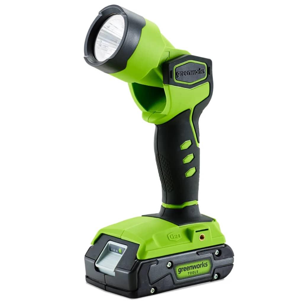Afbeelding van Greenworks LED-werklamp draadloos zonder 24 V accu G24WL 3500507