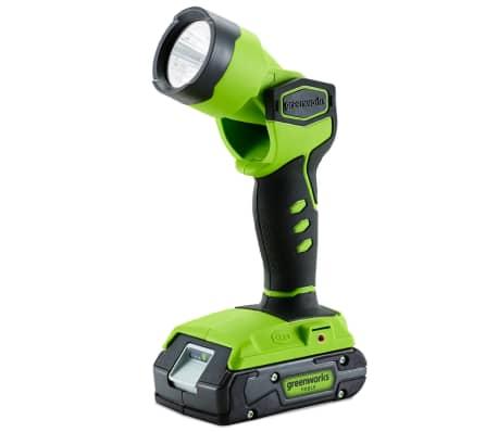 Greenworks Baladeuse LED sans fil sans batterie 24 V G24WL 3500507[1/2]
