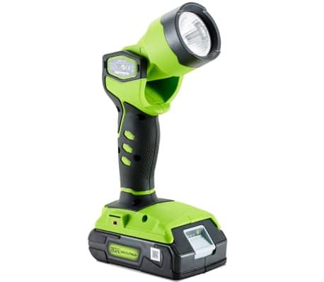 Greenworks Baladeuse LED sans fil sans batterie 24 V G24WL 3500507[2/2]