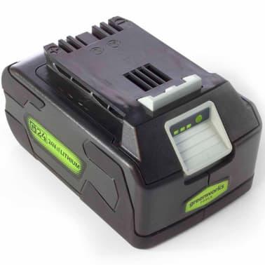 Greenworks Batería G24B4 24 V 4 Ah ion de litio 2902807[2/4]