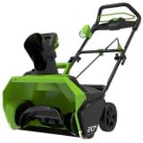 Greenworks Souffleuse à neige sans balai sans batterie GD40ST 2600007