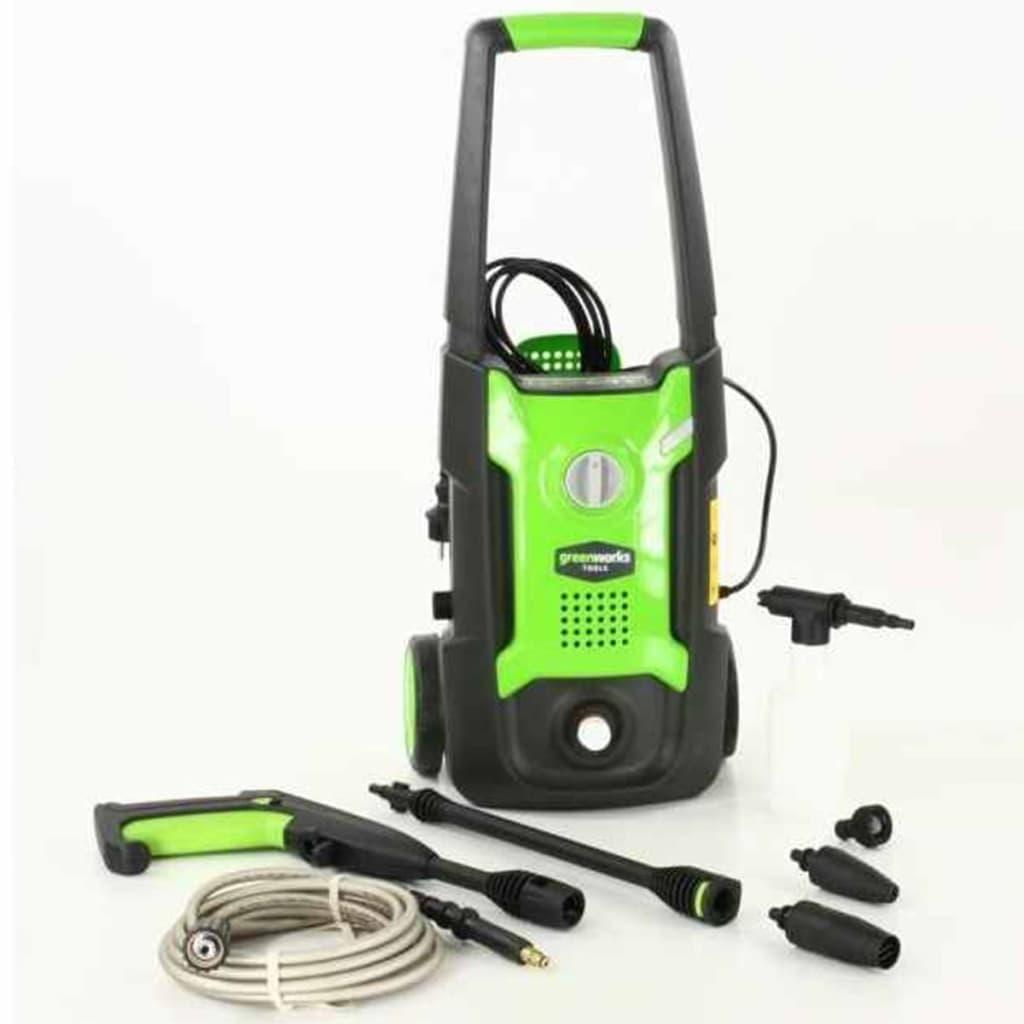 Greenworks Elektrisk høytrykksspyler GPWG2 110 bar 1400 W 5100107