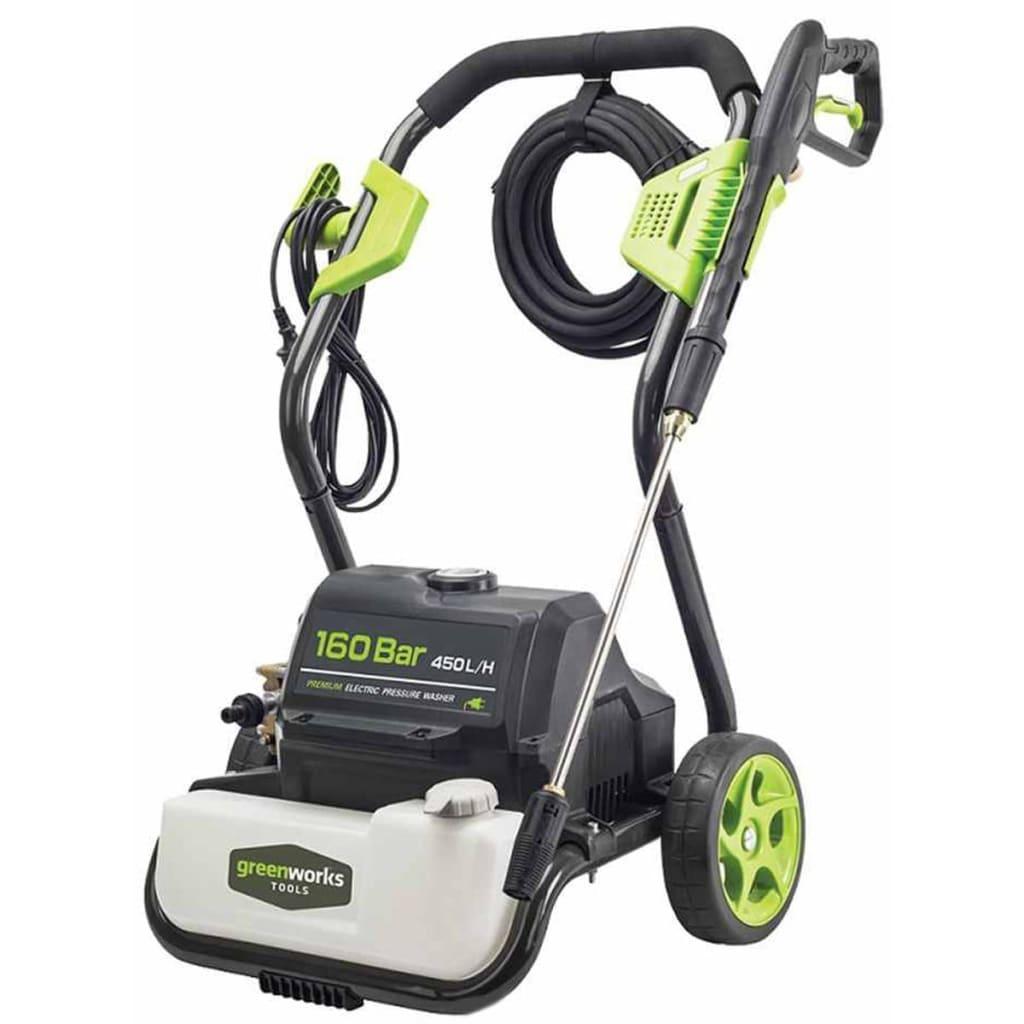 Greenworks Elektrisk høytrykksspyler GPWG8 160 bar 3000 W 5100907