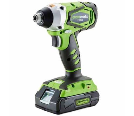 Greenworks Slagmoersleutel draadloos zonder 24 V accu G24IW 3801207